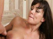 Badezimmer Fick mit Pornostar Lisa Ann
