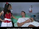 Arschficken mit japanischer Krankenschwester