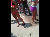 Schicksen am Strand heimlich gefilmt
